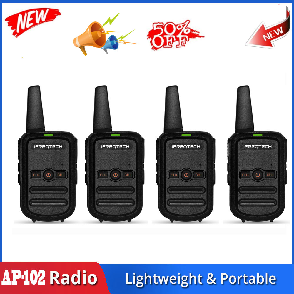 AP-102 License Free Kid's Walkie Talkie Mini Pocket Radio For Alecto Binatone FORCLAZ Walkie Talkies MOTOROLA Talkabout TLKR Mid