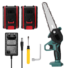 Electric Saws Electric Chainsaw Portable Mini Pruning Chainsaws Small Wood Spliting One-handed Woodworking Garden Power Tools