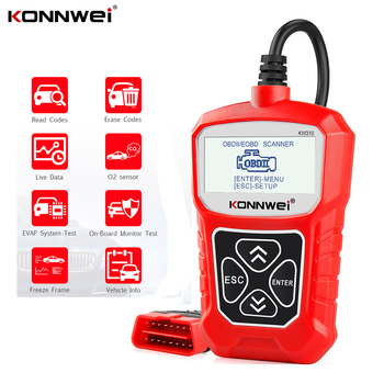 цена на KONNWEI KW310 OBD2 Scanner OBD Universal Auto Diagnostic Tool Check Engine Code Reader Automotive Diagnostic Tool for Car ELM327