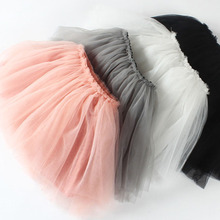 Girls Skirt Tutu Ball-Gown Birthday-Party Pink Princess Baby Clothes Kids Old 0-4Y Kawaii