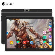 BDF tablette 10 pouces Quad Core Android 7.0 tablettes Pc 1 GB/32 GB Bluetooth WiFi double SIM 3G téléphone tablette Android ordinateur portable tablette 10(China)