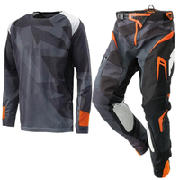 Top ATV BMX Moto Gear Set Motocross Jersey And Pants AMX Jersey Set Motorcycle Clothing MX Combo