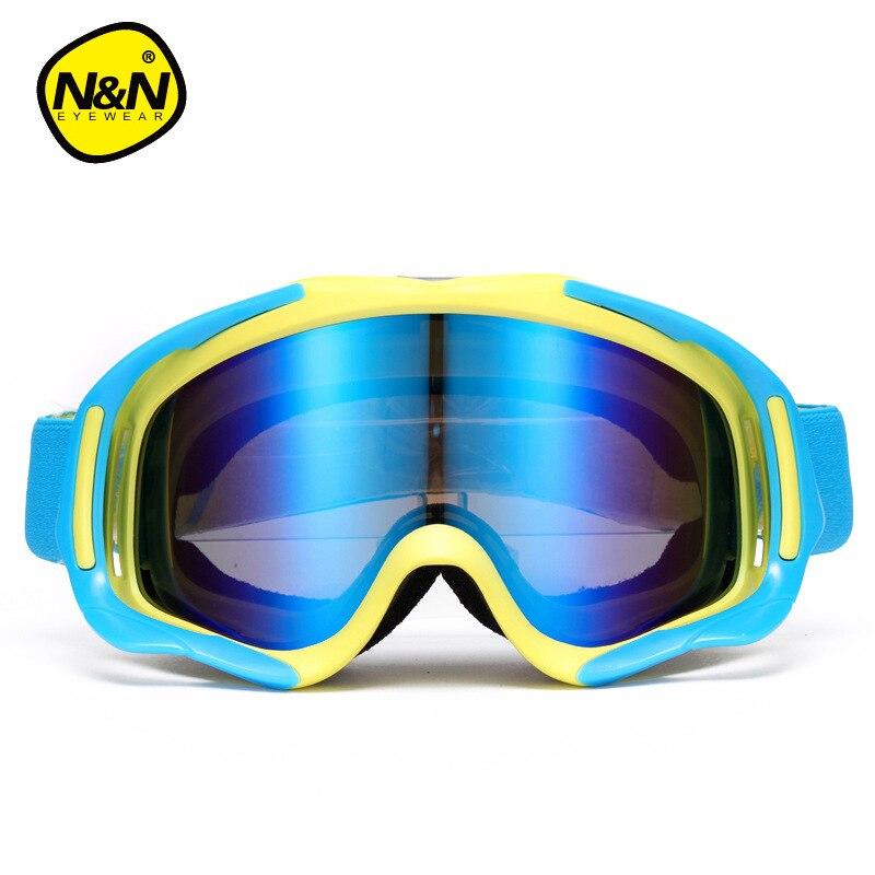 Hommes lunettes de Ski hiver Ski lunettes Double couche grand sphérique Anti-brume Ski lunettes femmes Ski lunettes myopie adaptateur - 5