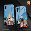 Team 7 Boruto anime Für Huawei Honor V Mate P 9 10 20 30 Lite Pro Plus Nova 2 3 4 5 weiche silikon glas telefon fall