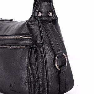 Image 5 - 럭셔리 핸드백 여성 가방 디자이너 2019 여성 부드러운 가죽 어깨 가방 sac 여성을위한 주요 crossbody 가방 플랩 가방 빈티지