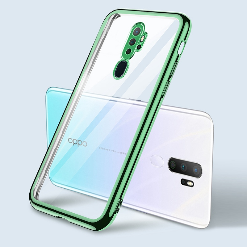 Transparent <font><b>TPU</b></font> Phone Case For <font><b>OPPO</b></font> A5 A9 2020 Find X2 Lite <font><b>Reno</b></font> 2 2Z 3 4 Pro Neo Realme 5i 6i 5 X50 Pro A91 A92S Cover Coque image
