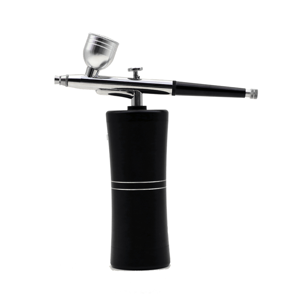 Wireless Portable Rechargeable Makeup Airbrush Kit with Mini Air Compressor Spray Pen for Tattoo Nail Art Paint Cake
