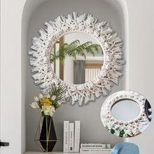 Макраме зеркало гобелены ручной работы макияж Спальня украшения