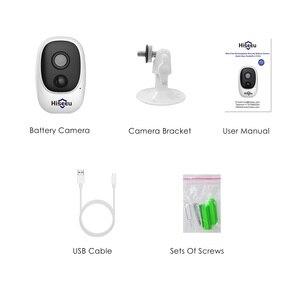 Image 5 - 1080P WIFI Battery Camera IP Outdoor Rechargeable Wireless IP Camera PIR Waterproof Motion Detect App View Hiseeu