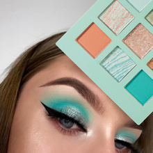 Palette Glitter Shimmer Eyeshadow Eyes Makeup Shadows-Highly-Pigments Handaiyan Cosmetic