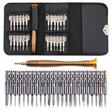 Urijk 25 In 1 Screwdriver Set Torx Opening Repair Hand Tool Set Multifunctional Torx Precision Screwdriver For Phones Tablet PC