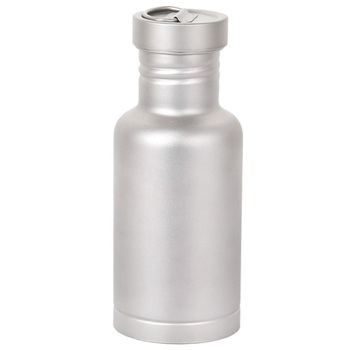 ABUO-Открытый Кемпинг титановая бутылка для воды с титановой крышкой Велоспорт Туризм спортивный напиток для пикника 500 мл