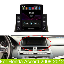9 7 #8221 Radio Stereo BT FM GPS Player with Knob Button 2 + 32GB Android 9 1 Quad Core for Honda Accord 2008-2012 cheap FY-UU 1024*600 Radio Tuner FM Transmitter MP3 MP4 Players Charger Mobile Phone Touch Screen Bluetooth Vehicle GPS Units Equipment