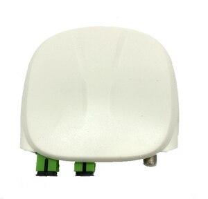 Image 2 - Оптоволоконный приемник FTTH SC APC/UPC с WDM и AGC, Внутренний оптический приемник с белым пластиковым чехлом