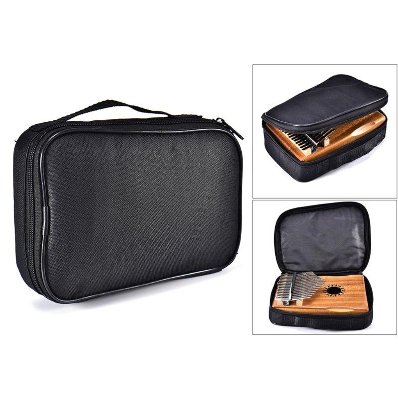 1 Pc 17/15/10 Key Kalimba Storage Bag Thumb Piano Mbira Sanza Protector Case Waterproof Handbag
