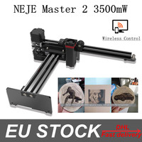 NEJE Master 2 3500mw 405nm CNC Laser Engraving Machine Laser Engraver with Wireless APP Control for Picture Engraving