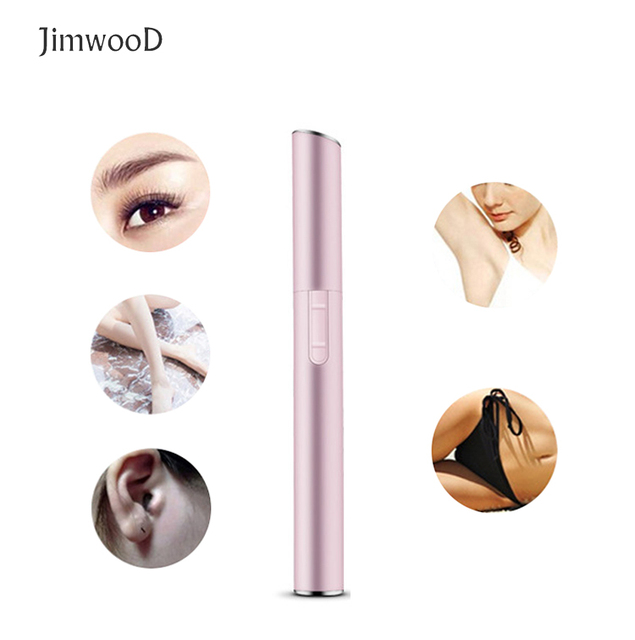 Electric Eyebrow Trimmer Lipstick Brows Pen Hair Remover Painless Eye brow Razor Epilator no box CE036