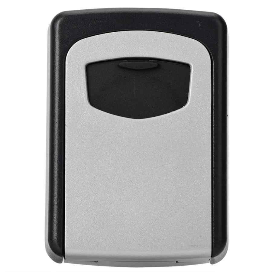 4 chiffres combinaison mot de passe coffre-fort mural clés boîte de verrouillage de stockage sécurité codée serrure boîte de rangement