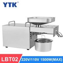 YTK LBT02 אוטומטי מכונה בד קר גבוהה חילוץ שיעור שמן Extractor בוטנים קוקוס זית מכונה בד