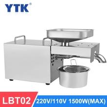 YTK LBT02 อัตโนมัติเย็นน้ำมันสูงสกัดRateน้ำมันEXTRACTORถั่วลิสงมะพร้าวน้ำมันมะกอกกดเครื่อง