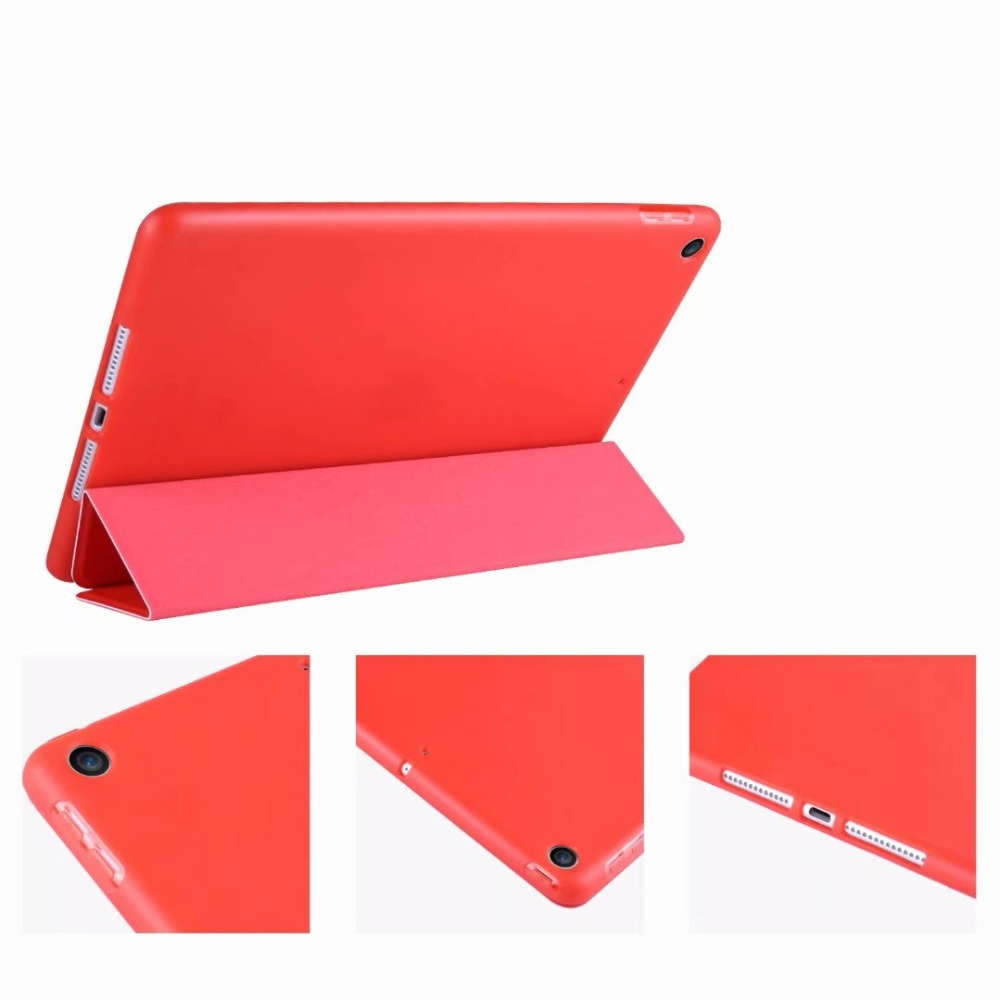 light Ipad Slim Tri-fold 2 Smart Soft 10.2 10 Cover For For Case TPU iPad Tablet Case