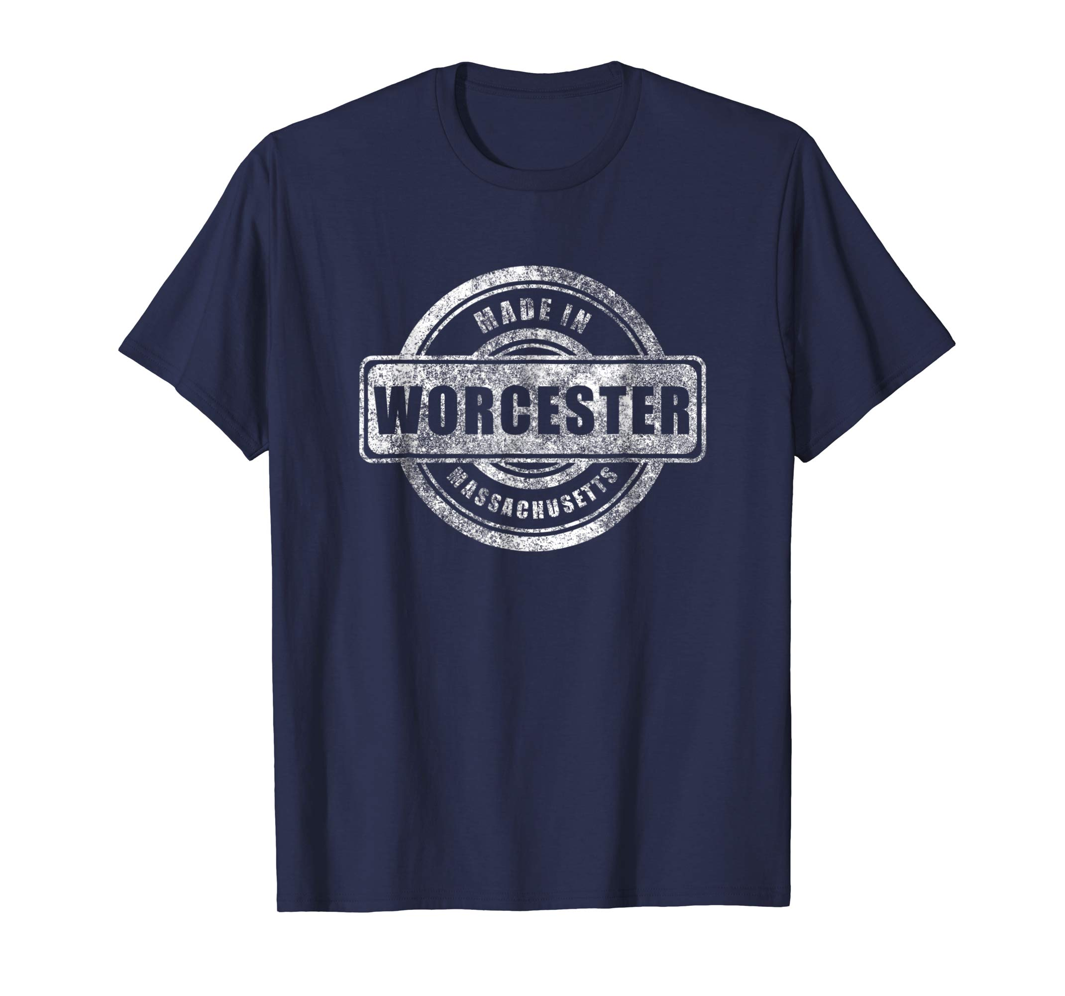 2019 Fashion Men T Shirt Made in Worcester <font><b>Massachusetts</b></font> Shirt Summer Fashion Street image