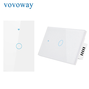 Image 2 - WIFI smart touch switch US standard light switch smart life APP remote control supports smart home alexa with Google Assistant