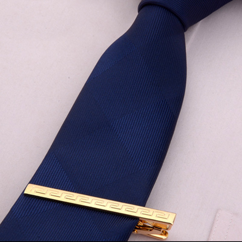 Men Metal Alloy Tie Clip Clamp Necktie Bar Clasp Wedding Bridegroom Business Fashion Formal Gifts BMF88
