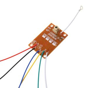 4CH RC Remote Control 27MHz Circuit PCB Transmitter and Receiver Board with Antenna Radio System for Car Truck Toy P31B(China)