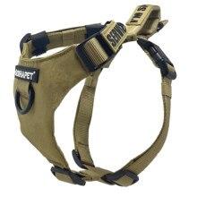 Arnês do cão nenhuma tração, andando o chicote de fios do animal de estimação com 2 anéis do metal e punho respirável ajustável oxford macio colete fácil controle dianteiro