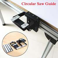Drillpro Electric Circular Saw Guide Set With Rail Lifting Accessories Woodworking Tool