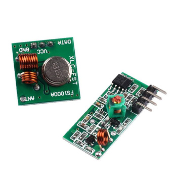 315MHZ Wireless Transmitter Module Transmitter 315 Frequency Radio Receiver Board Anti-theft Alarm Regeneration Module image