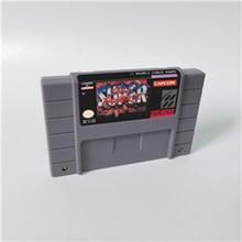 슈퍼 스트리트 게임 파이터 II 새로운 도전자 액션 게임 카드 US Version English Language
