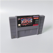 Super Street Game Fighter II les nouveaux challenger carte de jeu daction Version américaine langue anglaise