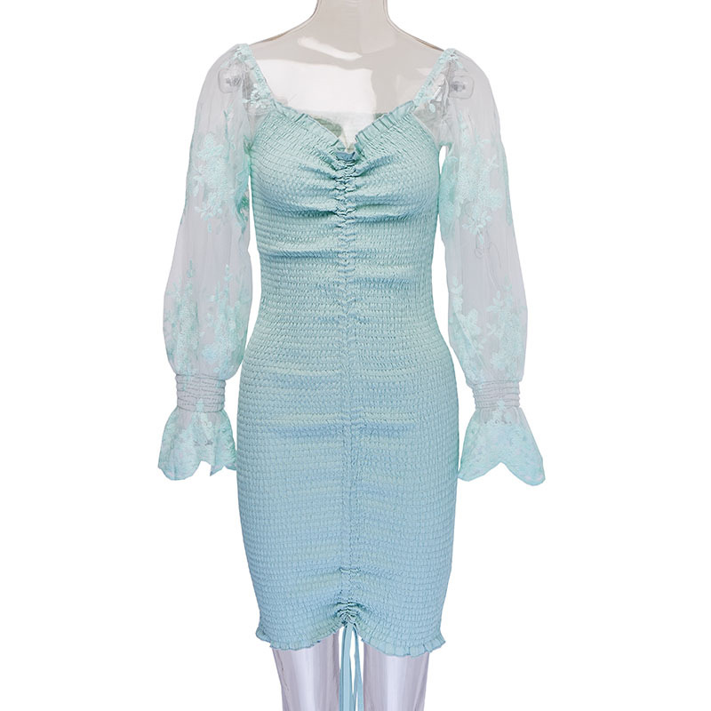 2020 Spring New Women Floral Print Sashes Shirt Dress Beach Women's Loose Short Boho Mini Dress Girls Party Solid Streetwear 16