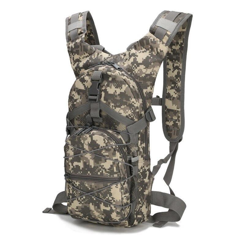 Outdoor Travel Riding Bag Water Bag Backpack Shoulder Camouflage Bag Leisure Sports Backpack