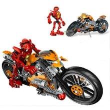 Marvel Super Heroes Starwars Hero Factory Star Soldier Wars Figures Furno Motorcycle 7158 Building Block Toys For Children