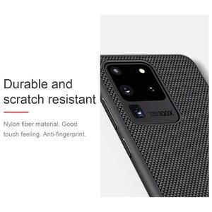 Image 4 - עבור סמסונג גלקסי Samsung Galaxy S20 Ultra S20+ Plus 5G בתוספת מקרה NILLKIN מרקם ניילון סיבי מקרה החלקה דק וקל כיסוי אחורי עבור Samsung S20