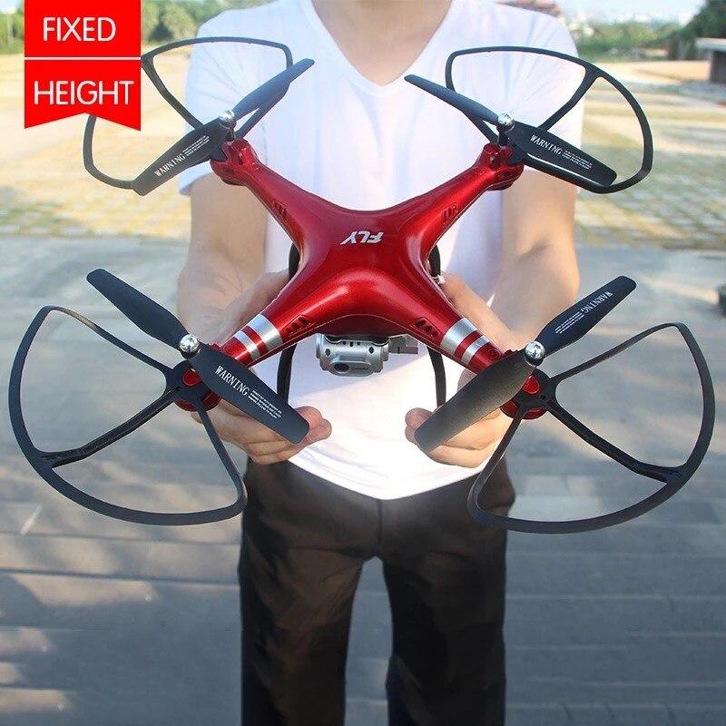 RC Drone Quadcopter Com 1080P Câmera Wi-fi FPV RC Dron Helicóptero 20-25min Tempo de Vôo Profissional 720p Quadcopter Zangão