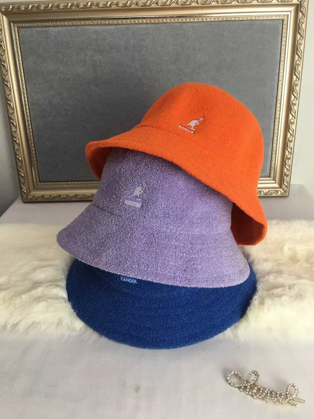 2020 New Autumn and Winter New Knitted Kangaroo Fisherman Hat Hat Female Fashion Solid Color Wild Painter Hat Wool Hat Tide