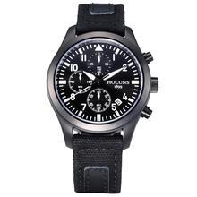 Holuns световой Дата хронограф специальные мужские часы Открытый спортивные часы Военная Униформа Водонепроницаемый Для мужчин наручные Reloj Hombre подарок