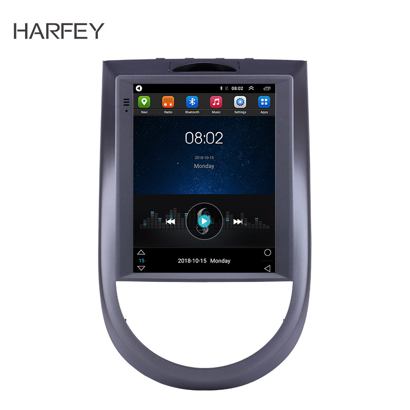 Harfey Car Android9.1 Stereo 9.7 GPS Navi 4G LTE for Kia Soul 2015 Multimedia Player Head Unit support WIFI DVR OBD Mirror Link image