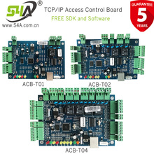 Einzelne Tür Vernetzung TCP/IP Single Tür Ethernet Wiegand RFID Access Control Board