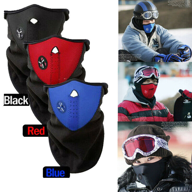 Anti-dust Training Mask Cover Face Hood Protection Bike Ski Sports Outdoor Winter Road Cycling Masks Face Cover