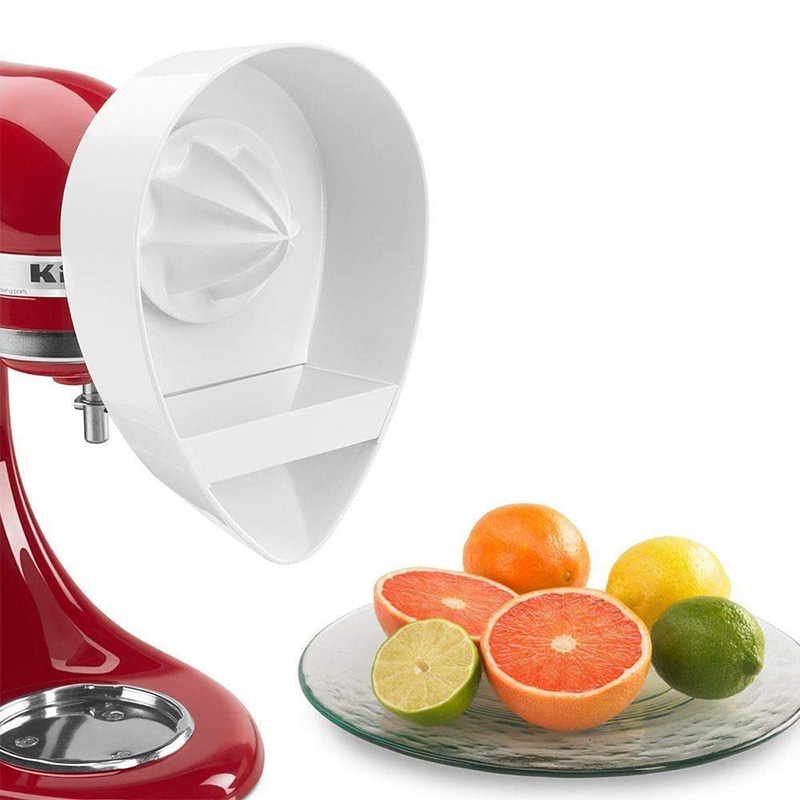 Juice Attachment for Kitchenaid KN12AP Stand Mixers (4.5QT/5QT) Citrus Juicer Stand Mixer Attachment Reamer Dishwasher-Safe