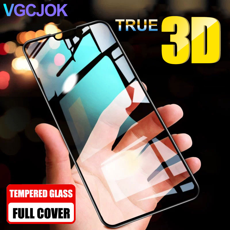 3D Tempered Glass For Huawei P Smart Z 2019 Screen Protector For Honor 10 20 Lite Honor View 20 V20 9X 8X 8A 8C Protective Glass