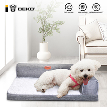 DEKO Dog Sofa Bed Soft Waterproof Warm Cushion Cat House Bed Puppy Sleeping Hondenmand Cushion Mat Pet Supplies