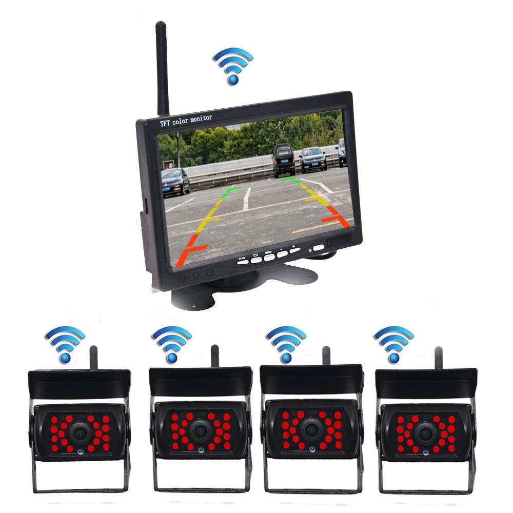 Wireless Rear View Camera Reverse Reversing IR Night Vision 7