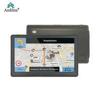 Navegador GPS con pantalla capacitiva de 7 pulgadas y Windows CE para coche y camión, dispositivo de navegación GPS para coche HD, con Bluetooth, avan, FM, 8GB/256MB, para Europa