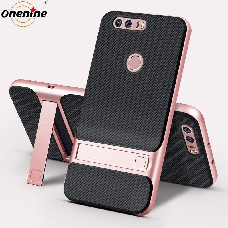Luxury Phone Back Cover untuk Huawei Honor 8 Kasus Gaya Buku Berdiri - Aksesori dan suku cadang ponsel - Foto 4